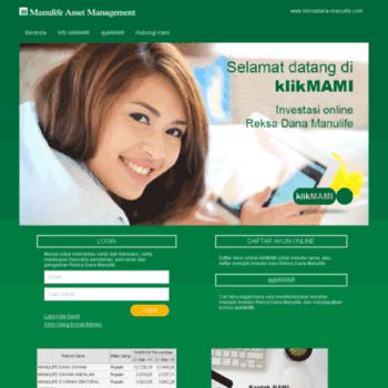 KlikMAMI Pilihan Investasi Reksa Dana Online Terbaik