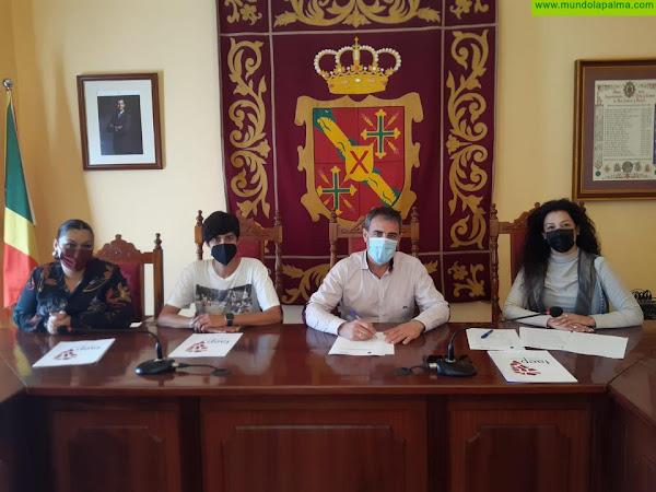El Ayuntamiento de San Andrés y Sauces y su tejido comercial, suman sinergias con FAEP para la promoción de su oferta