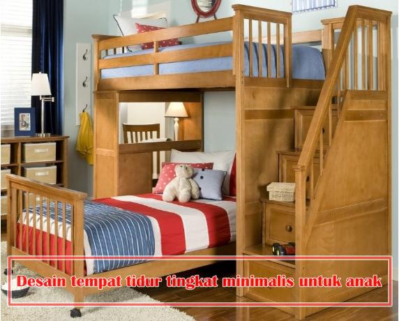 9 desain tempat tidur tingkat minimalis untuk anak