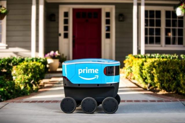 Amazon mulai coba kirim barang di California pakai robot Scout