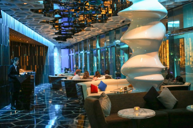 Interiors of Ozone, Ritz-Carlton , Hong Kong