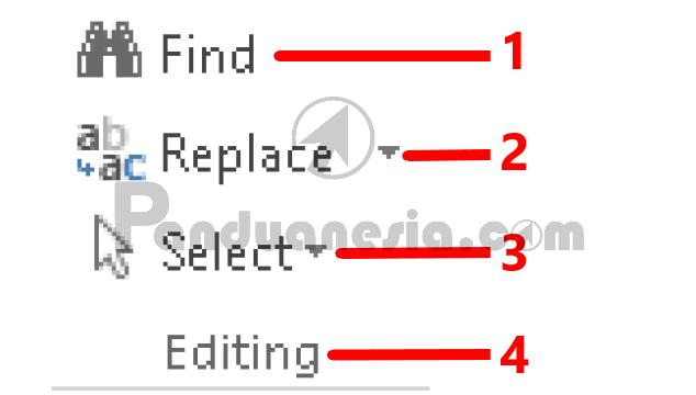 Fungsi icon tab menu HOME