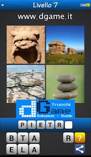 PACCHETTO 6 Soluzioni Trova la Parola - Foto Quiz con Immagini e Parole livello 7