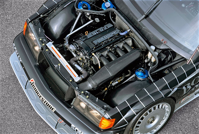 mercedes evo ii ludwig engine