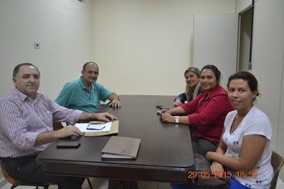 Reunião com Vereador Marcelo Comeron em Registro-SP