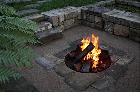 Flagstone Fire Pit Ideas