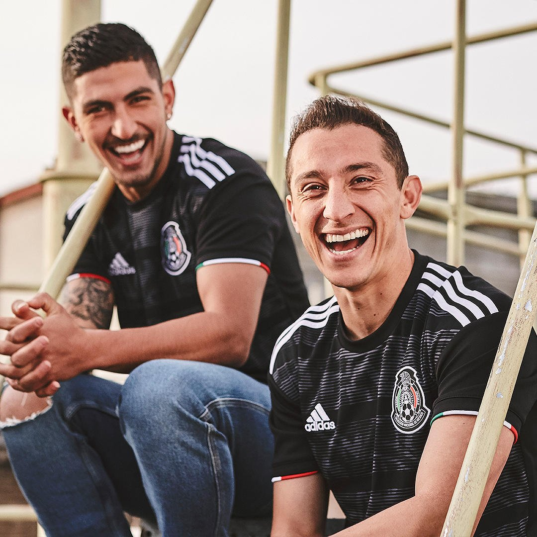 3c46f51b4d0 Black Adidas Mexico 2019 Gold Cup Kit Released - Footy Headlines