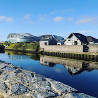 Pictures of Dublin: Reflections in the River Dodder in Ringsend