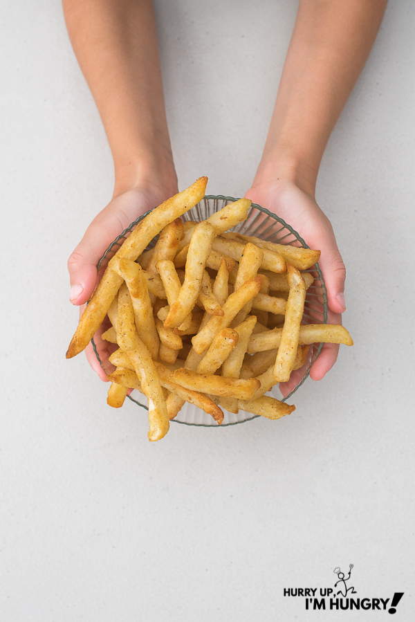 Air fryer french fries frozen
