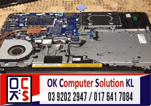[SOLVED] MASALAH LAPTOP LENOVO IDEAPAD 110-1 | REPAIR LAPTOP AMPANG 3