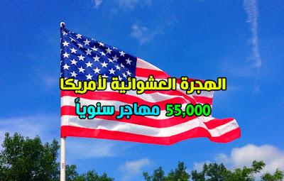 الهجرة العشوائية لأمريكا والحصول علي Green Card ( اللوتري 2022)