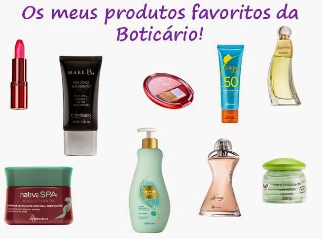 Os meus produtos favoritos da Boticário! 28d726846fb28