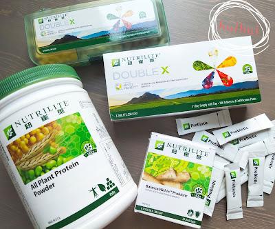 Amway營養食品: 紐崔萊NUTRILITE蛋白粉+ Amway probiotics+ Amway Double X