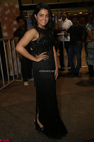 Wamiqa Gabbi in a sleeveless Black Designer Transparent Gown at 64th Jio Filmfare Awards South ~  Exclusive 148.JPG