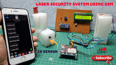Arduino & KY008 Laser Based Security System