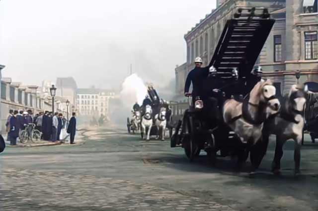 Firefighters in Paris 1890s randommusings.filminspector.com