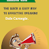 The Quick & Easy Way to Effective Speaking - Book Summary - Dale Carnegie