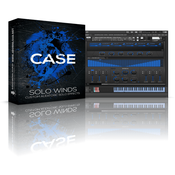 8dio CASE Solo Woodwinds FX KONTAKT Library