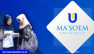 Jurusan Teknologi Pangan & Agribisnis~Ma'soem University