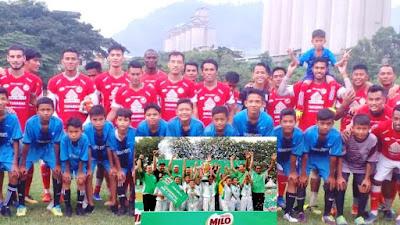 SSB Tabuik Piaman Akan Mengikuti Turnamen Berskala Nasional MILO Football Cup 2019 di Bogor