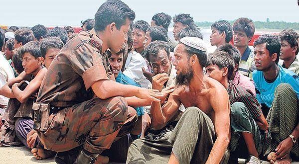 Muslim Rohingya dibantai