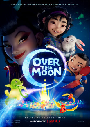 Over the Moon 2020 HDRip 720p Dual Audio