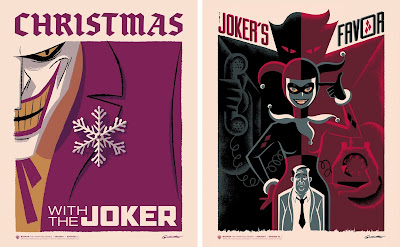 Batman: The Animated Series Season 1 Print Showcase by George Caltsoudas x Bottleneck Gallery