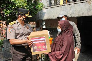 Giat Baksos Siswa Sespimti Dikreg 30 Tahun 2021 di Bandarharjo Semarang