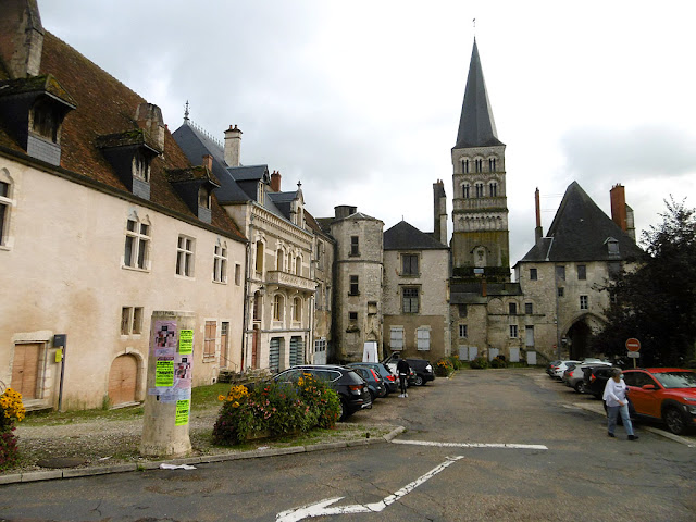 Lodgings and warehouses in the Clunaic priory complex, La Charite sur Loire, Nievre, France. Photo by Loire Valley Time Travel.