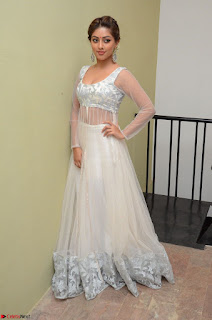 Anu Emmanuel in a Transparent White Choli Cream Ghagra Stunning Pics 083.JPG