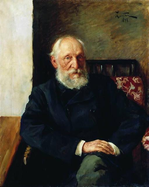 Исаак Ильич Левитан - Портрет Н.П. Панафидина. 1891