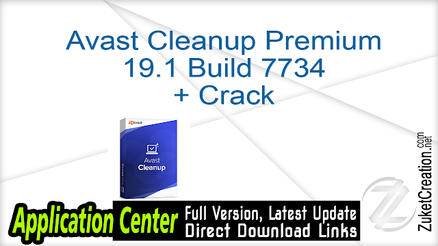 Avast Cleanup Premium 19.1 Build 7734 + Crack
