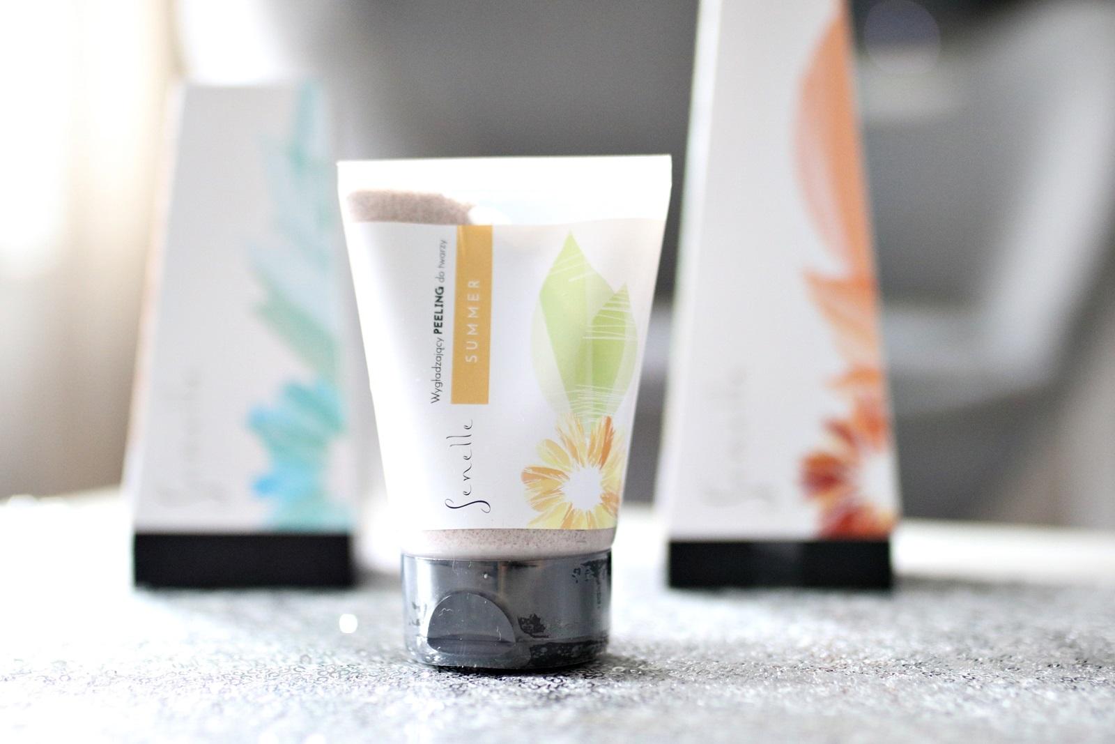 kosmetyki naturalne Senelle - wygładzający peeling do twarzy