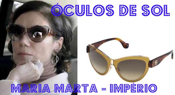 a4e65ad5e00b4 Conheça os óculos de sol de Lília Cabral, a Maria Marta em