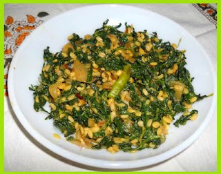 Hari Methi Saag Hindi Recipe