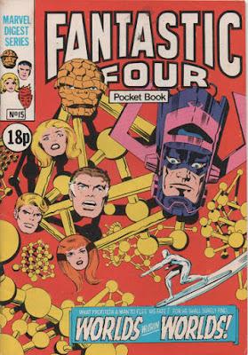Fantastic Four pocket book #15