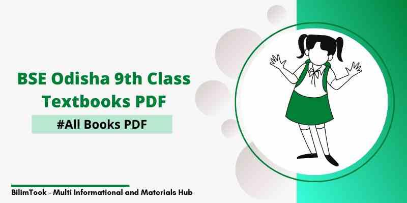 BSE Odisha 9th Class All Books PDF Download 2021
