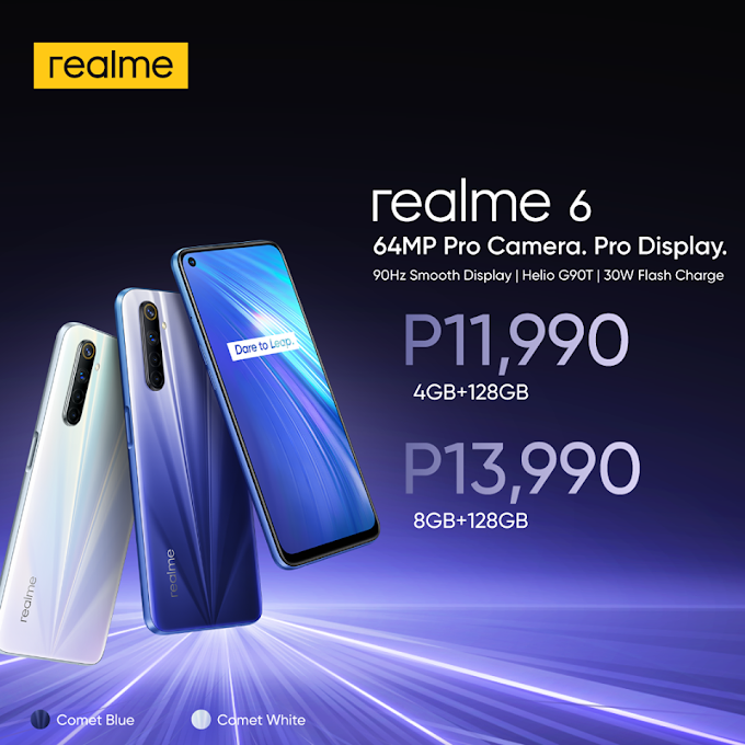 Realme 6, 6 Pro now available in the Philippines