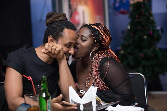Lydia Forson and Wanlov the Kubolor