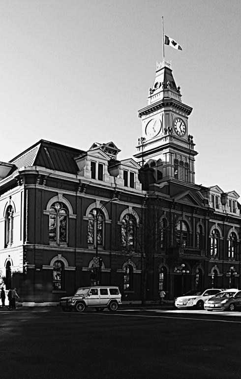 victoria city hall old town british columbia