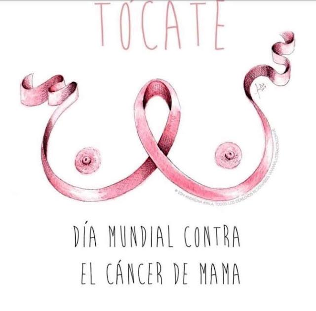 día mundial contra el cáncer de mama, RUGE Ceuta