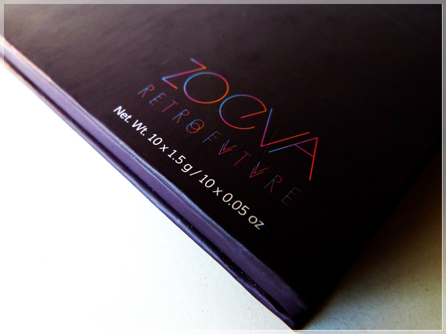 Review Zoeva Retro Future Palette