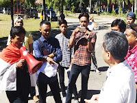 Hampir Setahun Ijazah Belum Diterima, Sejumlah Alumni Demo Kampus Politani Pangkep