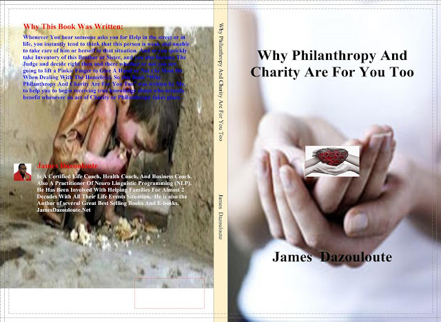 CHARITY BOOK BY JAMES DAZOULOUTE, AUTHOR