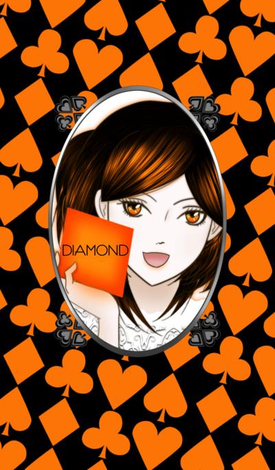 Playing cards -Diamond Princess-