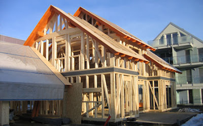 Skeletna gradnja hiše v lastni režiji