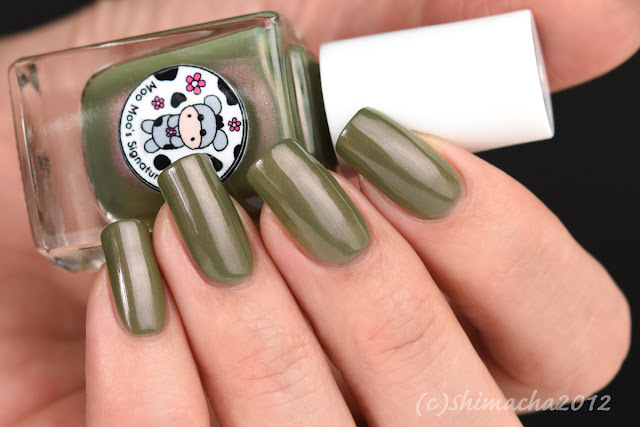 Moo Moo Polish - Exotic Foliage (Moo Moo's Story Part III)