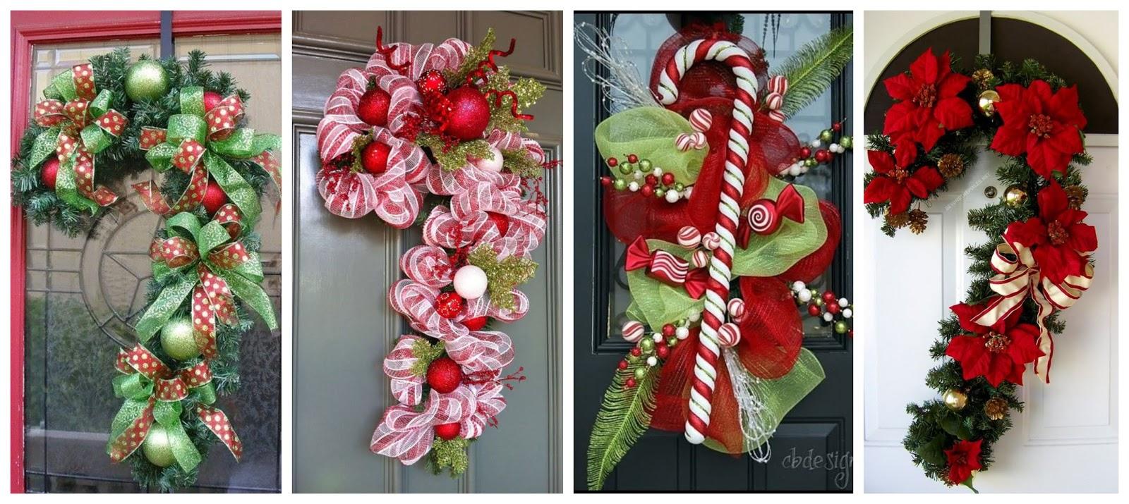 Aprende c mo decorar tu puerta en esta navidad haciendo for Disenos navidenos para decorar puertas