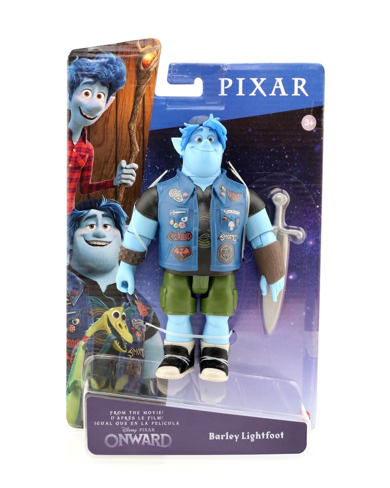 pixar onward action figures mattel barley