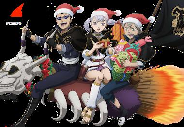 Render Black Clover Navidad